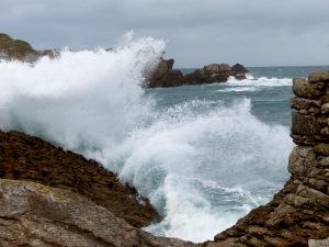 Rompiente en San Vicente de la Barquera